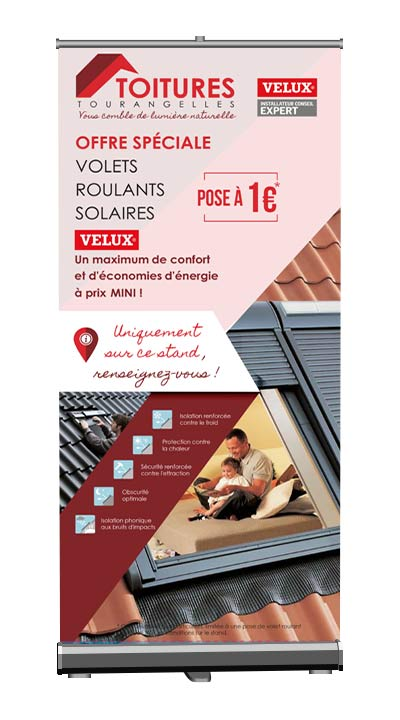 Roll up Toitures Tourangelles